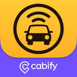 Lihtne rakenduse ikoon, rakendus Cabify
