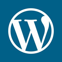 WordPressi rakenduse ikoon
