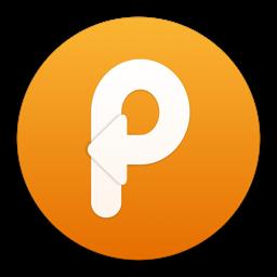 Kleebi - lõikelauahalduri rakenduse ikoon