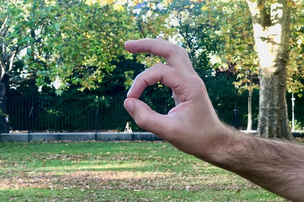 'OK' märgisega fotod eemaldatakse Instagramist pärast liikumist, et liituda helisümbolite loendiga. Foto: Divulgao / Emojipedia