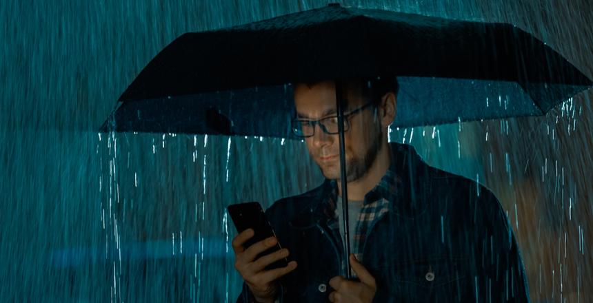 4 rakendust, mis aitavad teid vihmasel päeval