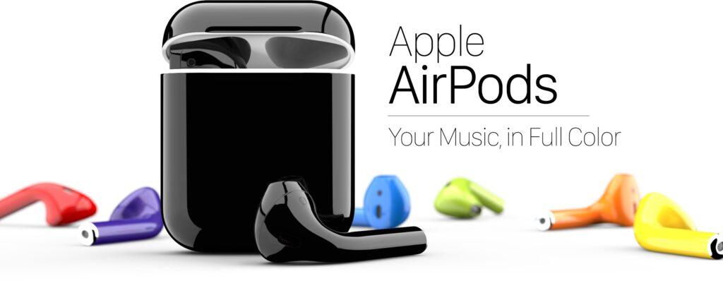 AirPodil on nüüd kohandamiseks 58 värvivalikut - see tähendab, kui olete nõus selle teenuse eest maksma [atualizado: vídeo]