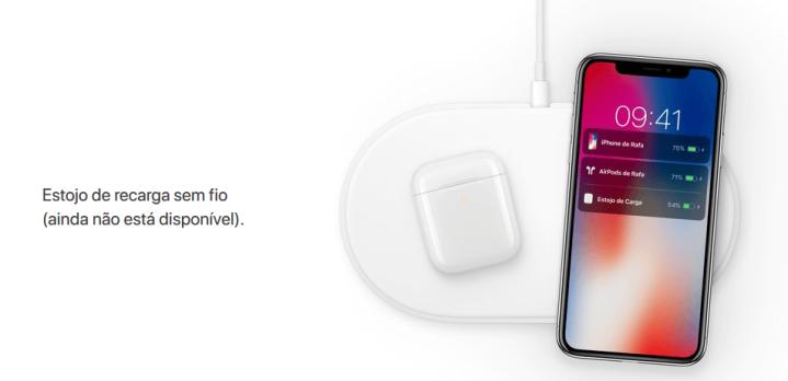 Eelmisel aastal eemaldas Apple AirPoweri saidilt, välja arvatud see pilt.