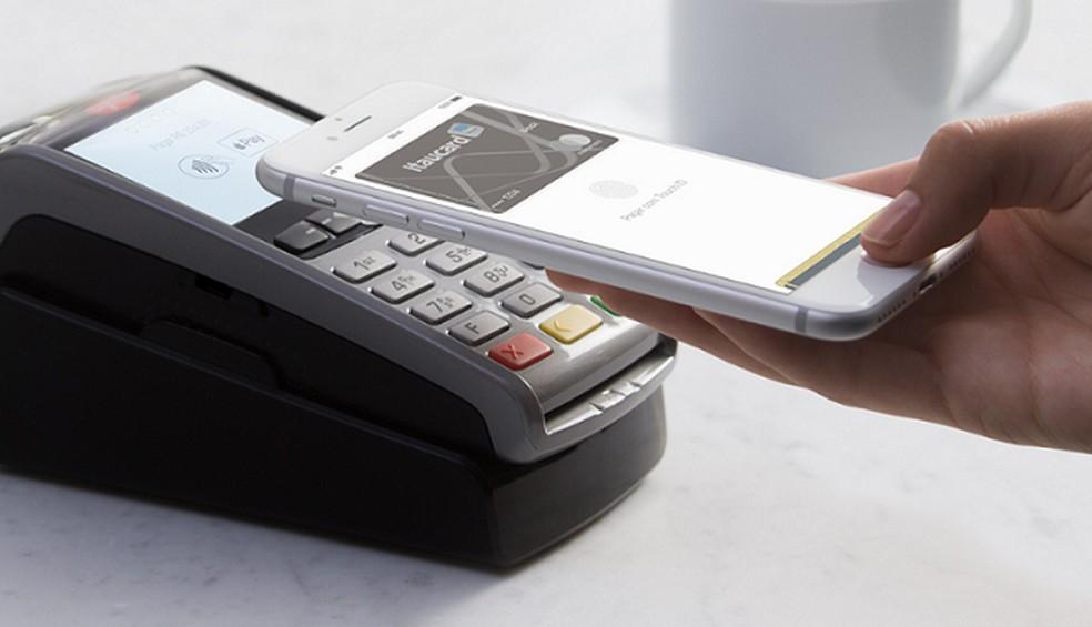 Apple Pay kasutab foto: Divulgao / Apple ostude kinnitamiseks NFC-d ja digitaalset või näotuvastust