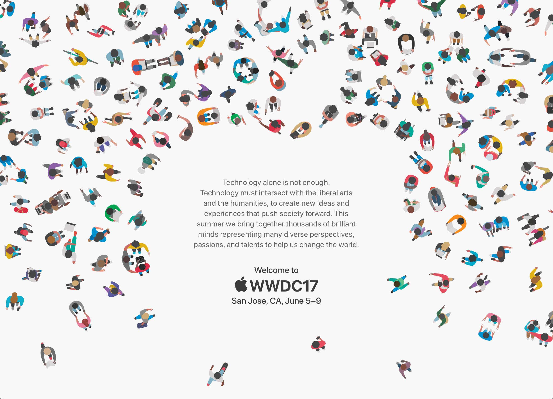 WWDC 2017 kontseptuaalne kunst