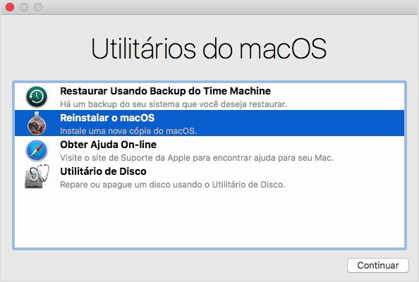 Pemulihan MacOS