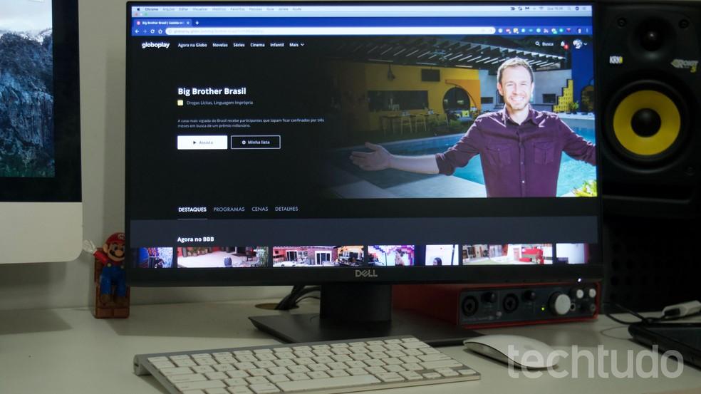 BBB 20 otseülekanne 24 tundi: kuidas vaadata Brasiilia suurt venda Globoplay fotodel: Marvin Costa / TechTudo