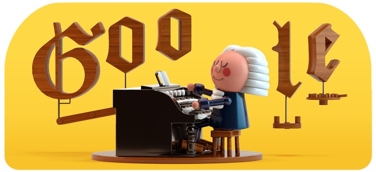 Bach võitis esimese tehisintellektiga Google Doodle'i Internet