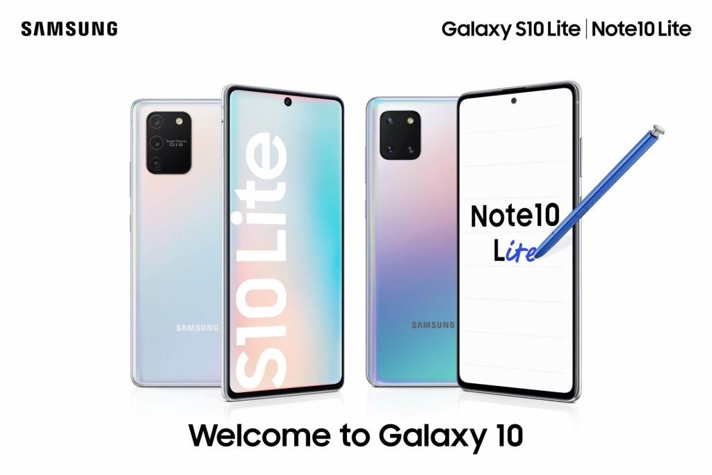 Galaxy Note 10 Lite ja S10 Lite saabusid just täna Brasiiliasse