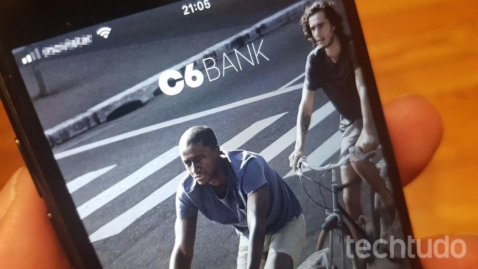 C6 Pank pakub tasuta kontot ja kaarti ilma aastatasudeta Foto: Paulo Alves / TechTudo