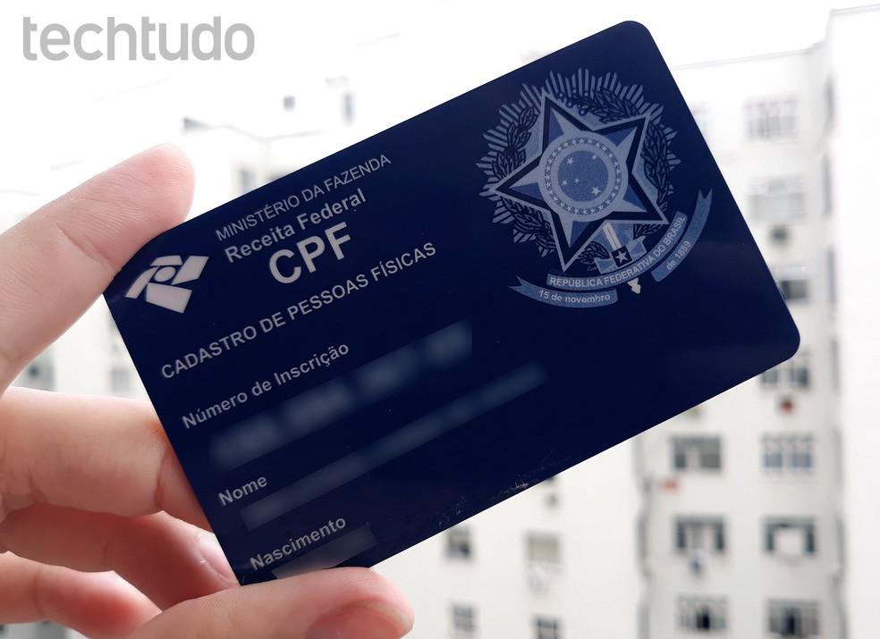 Vaadake, kuidas muuta CPF-i registreerimisandmeid Interneti kaudu. Foto: Ana Letcia Loubak / TechTudo