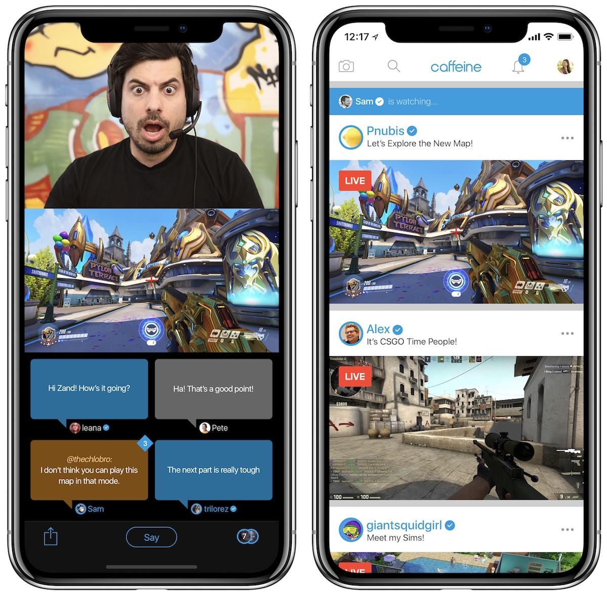 Endine Apple'i juht lõi Twitchi ja YouTube Gamingu jaoks konkurentsiplatvormi