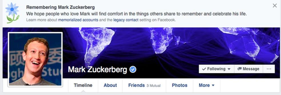 Facebooki asutaja ilmus postuumselt sotsiaalvõrgustikes novembris. Foto: Reproduo / Business Insider