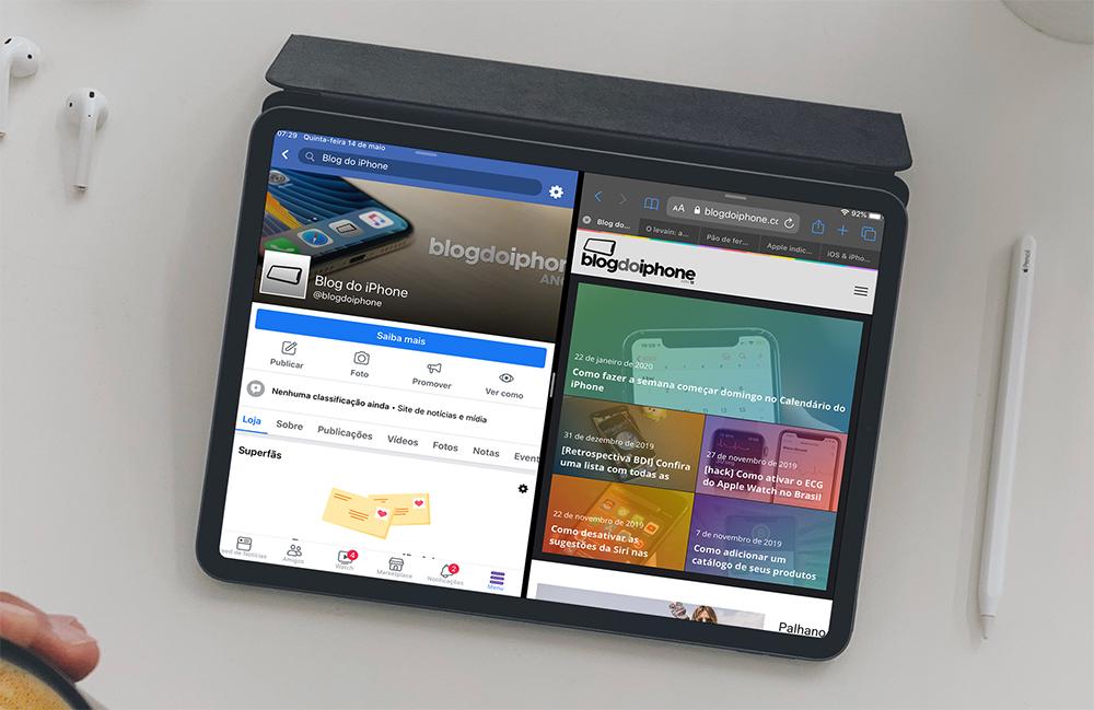 Facebooki rakendus võidab SplitView'i iPadis »iPhone'i ajaveeb