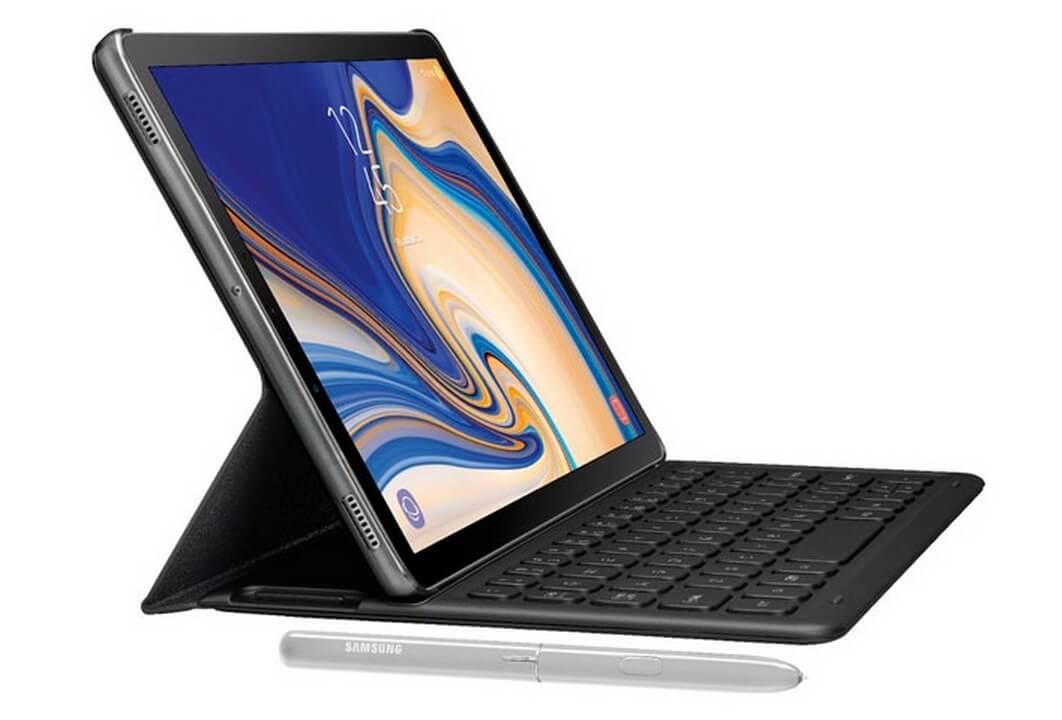 Galaxy Tab S4 ilmub uue lekkena koos klaviatuuri katte ja pliiatsiga