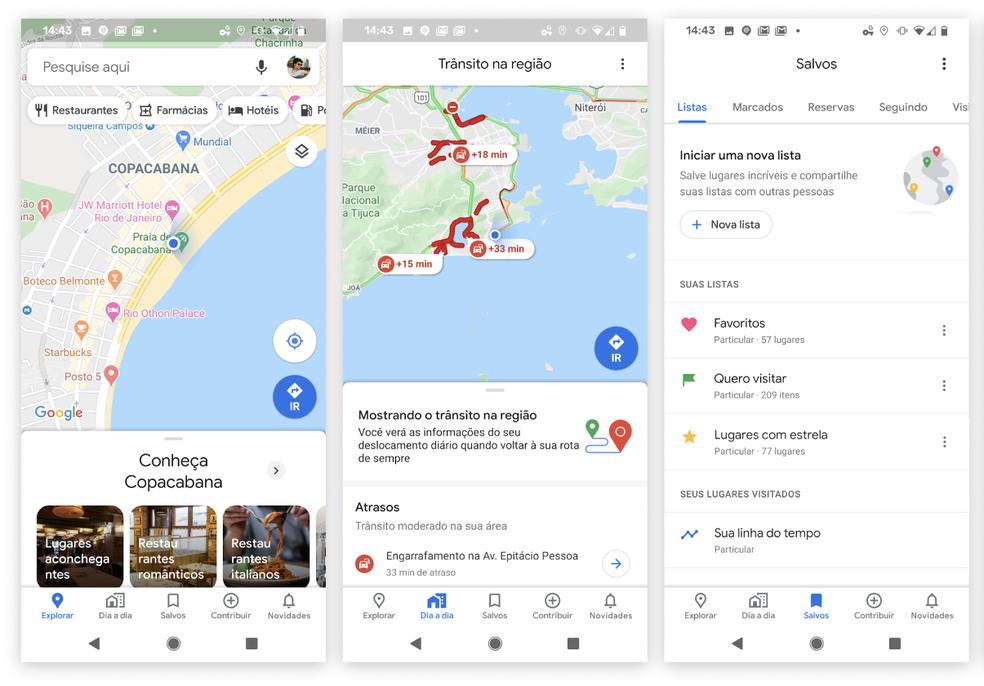 Google Maps tähistab oma 15. sünnipäeva uue ilme ja ainulaadse foto: Divulgao / Google funktsiooniga