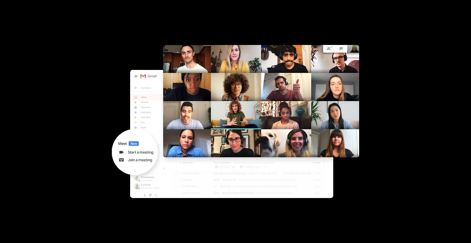 Google Meet Tech