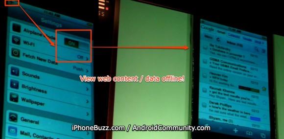 Google demonstreerib Androidi ja iPhone'i Gmaili võrguühenduseta režiimi