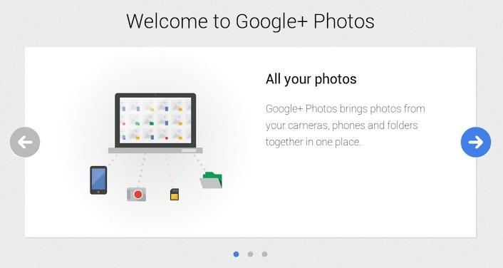 Google+ fotod võidab Chrome'i rakenduse