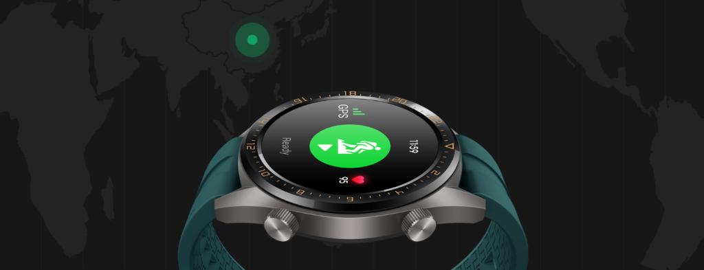 Huawei Watch GT treeningrakendus