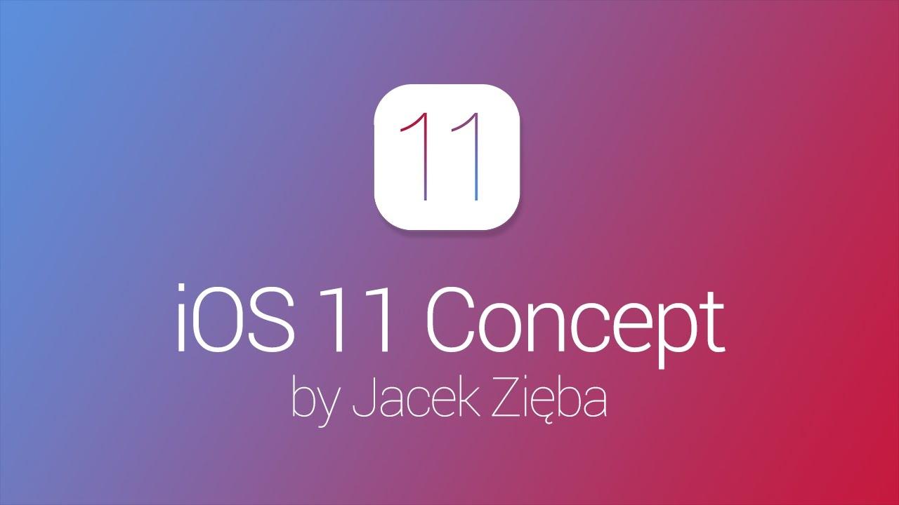 IOS 11 kontseptsioon näitab uudiseid, mis võivad jõuda uude süsteemi