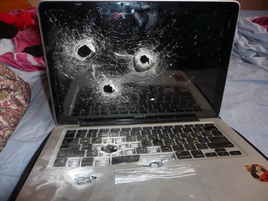 Mesin MacBook ditembak di Israel