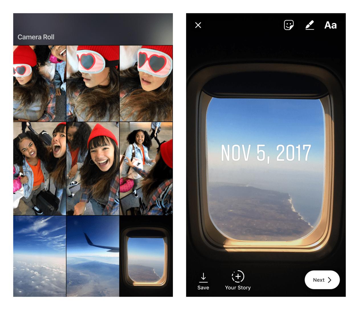 Instagram annab välja vanu foto- / videoteemalisi väljaandeid Stories; Skype lisab teie rakendusele fotoefektid