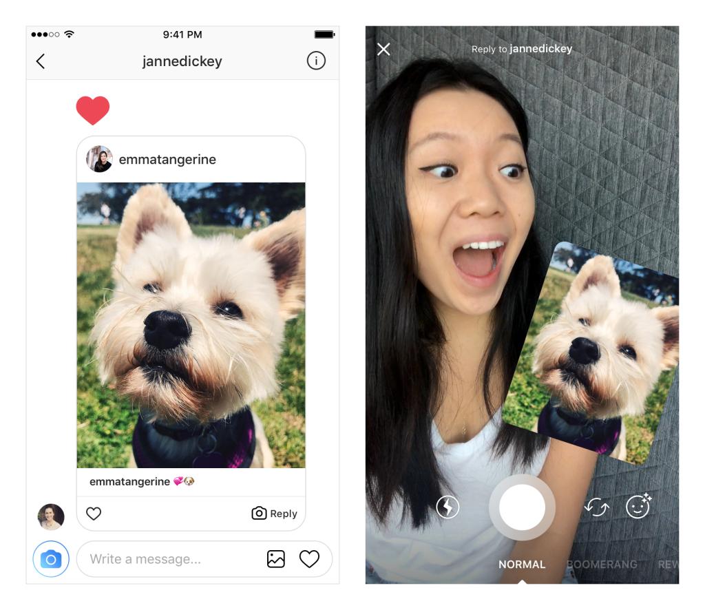 Uus Instagrami reageerimise funktsioon