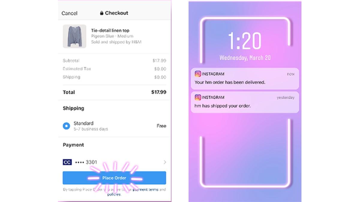 Instagram testib Checkouti, funktsioone ostude tegemiseks ja rakendusesiseseks tasumiseks | Sotsiaalvõrgustik