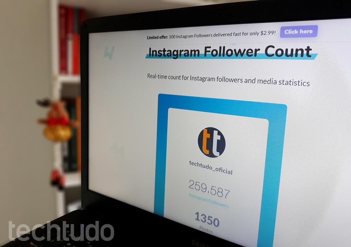 Instagrami jälgijate loendurid: viis saiti reaalajas näha Sotsiaalmeedia