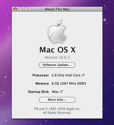 Tentang iMac Core i7