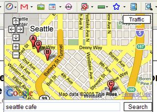 Juurdepääs Google Mapsile kõikjal veebis