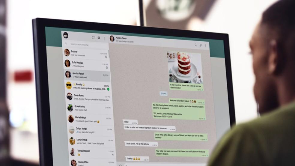 Kas WhatsApp Web töötab telefonist kaugel? Saate aru rakenduseühendustest arvutiga Foto: Divulgao / WhatsApp