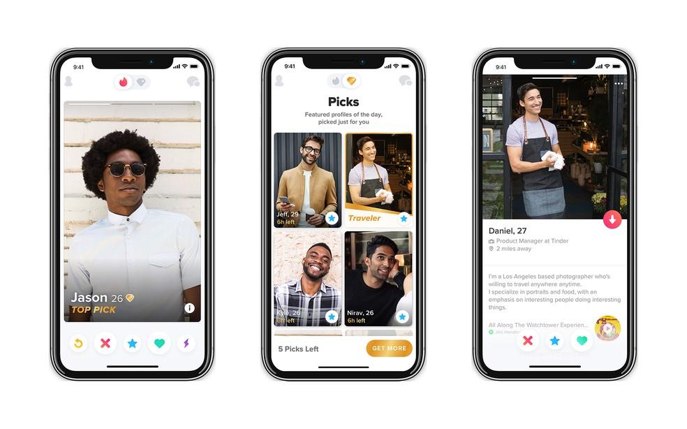 Tinder annab kasutajatele vabaduse lisada oma profiili oma teave. Foto: Divulgao / Tinder