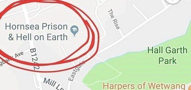 Kool muutis oma nime Google Mapsis põrguks maa peal