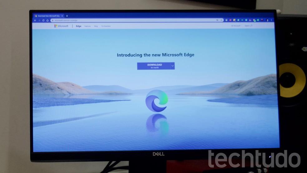 Õpetus näitab, kuidas installida Microsoft Edge'i uus Chromiumi versioon Windowsi jaoks Foto: Marvin Costa / TechTudo
