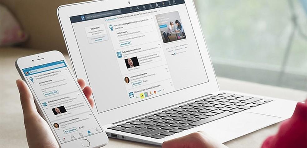 Sotsiaalvõrgustik LinkedIn, mis aitab teil leida tööpakkumisi Foto: Divulgao / LinkedIn
