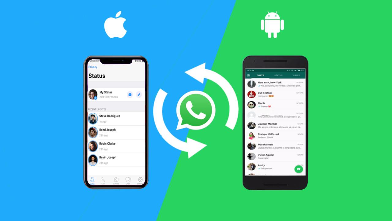 Kuidas WhatsApi andmeid Androidi iPhone'ile hõlpsalt üle kanda