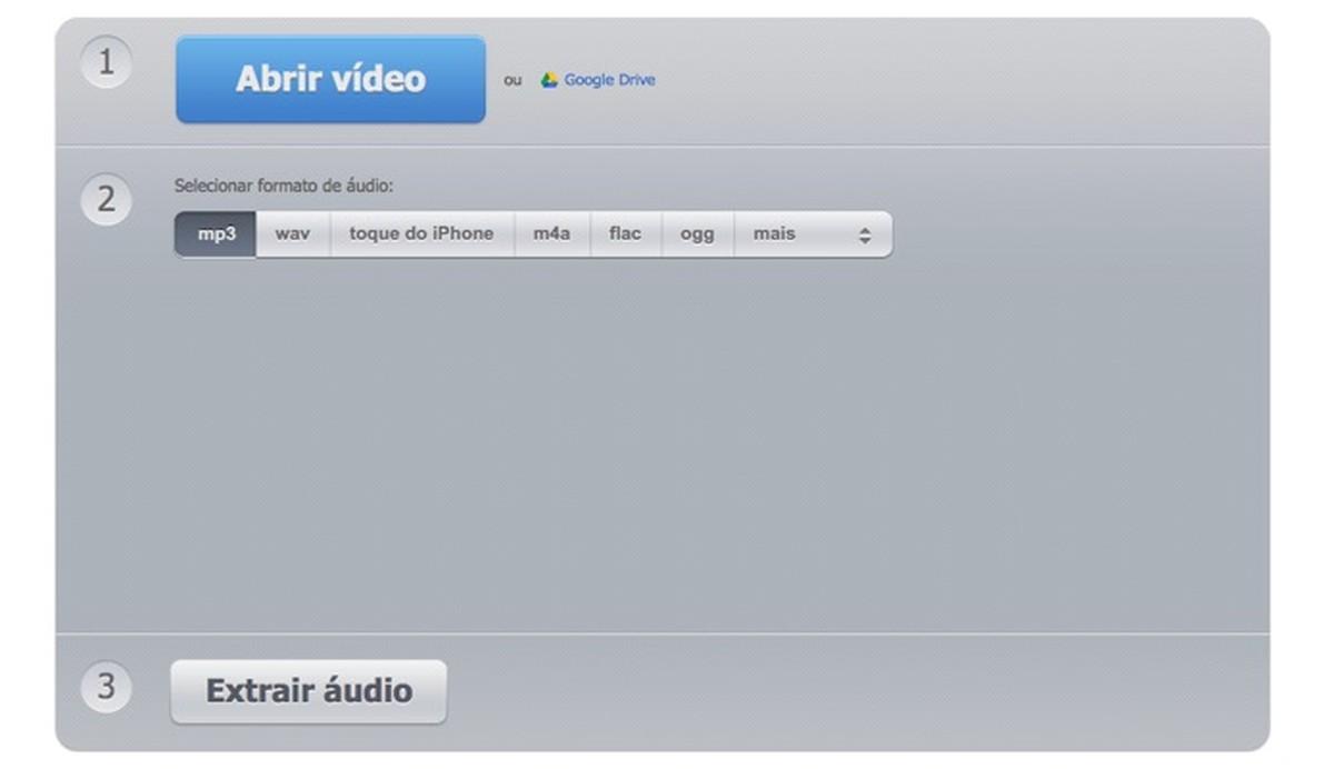 Kuidas alla laadida audiovideo koos heli ekstraktoriga Muundur