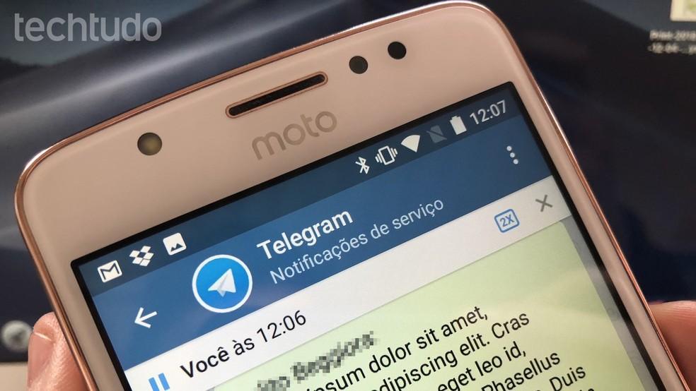 Telegram Web ei vaja autentimist QR-koodi kaudu Foto: Helito Beggiora / TechTudo