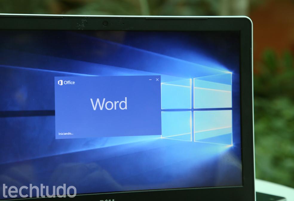 Õpetus näitab, kuidas Microsofti lehti sissejuhatavalt lehelt dokumenteerida Foto: Carolina Ochsendorf / TechTudo