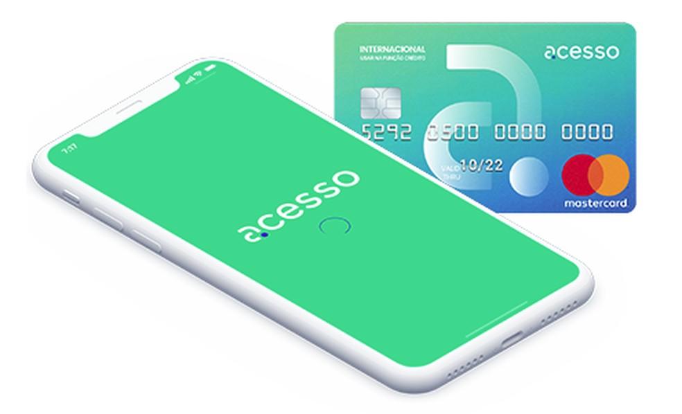 Fotodega tutvumine Juurdepääs ettemakstud krediitkaartidele: Divulgao / Acesso