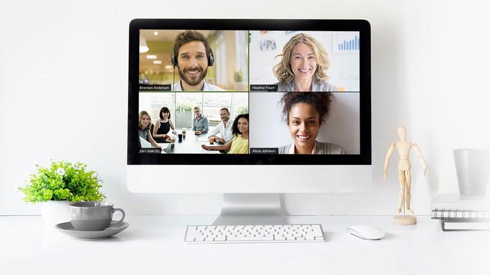 Videokonverentsi Zoom tööriist, mis võtab vastu kuni 500 osalejat Foto: Divulgao / Zoom