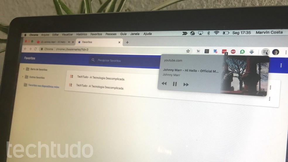Õpetus näitab, kuidas lubada Chrome Photo peidetud meediumipleierit: Marvin Costa / TechTudo