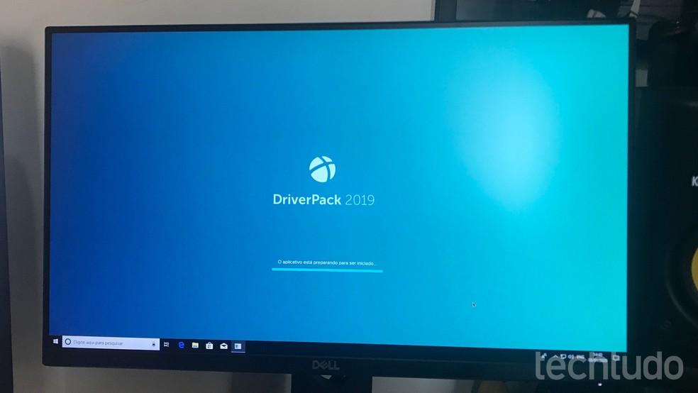 Õpetus näitab, kuidas Windowsi konfigureerida tasuta tarkvara Photo DriverPack abil: Marvin Costa / TechTudo