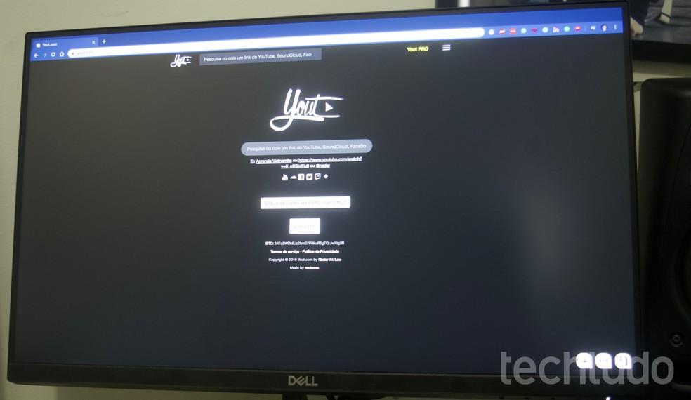 Õpetus näitab, kuidas kasutada oma veebisaiti videote Facebooki fotode allalaadimiseks: Marvin Costa / TechTudo