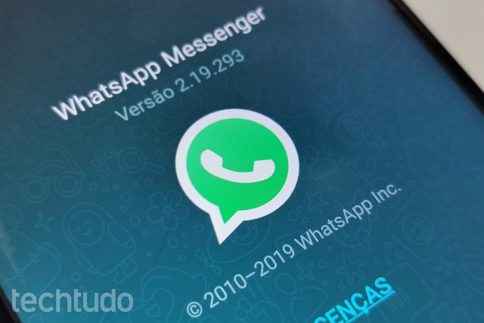 WhatsApp Pay: saate aru maksefunktsioonidest, mida tuleb Brasiilias testida Foto: Nicolly Vimercate / TechTudo