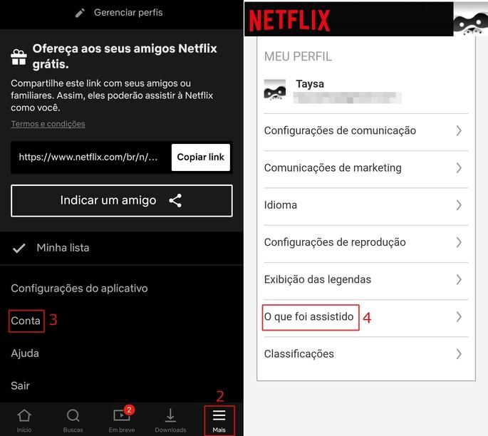 Kustuta Netflixi ajalugu