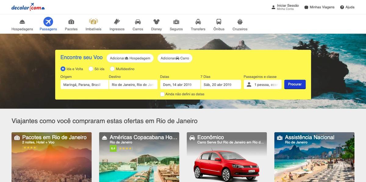 Kuidas leida arvutis Decolar.com-ist odavaid lennupileteid Sööt