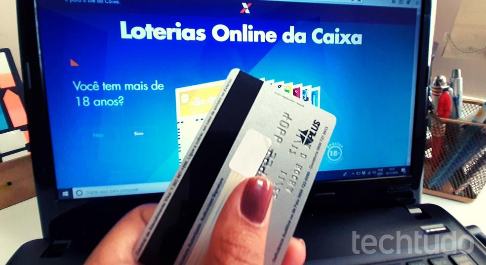 Saate teada, kuidas Mega-Sena-s panustada Internetis kodust lahkumata.Foto: Lvia Dmaso / TechTudo